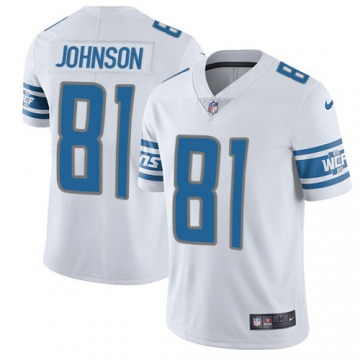 Youth Calvin Johnson Detroit Lions Nike Limited Jersey - White