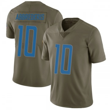 Youth Jared Abbrederis Detroit Lions Nike Limited 2017 Salute to Service Jersey - Green